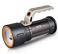 TwoBoys ST-3411 Rechargeable 3-Mode 1x Cree Q5 Zoom LED Flashlight(500LM, 2x18650, Black)