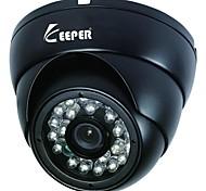 Outdoor Metal Dome 1/3 CMOS 900TVL IR LED CCTV Camera