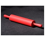 Bakeware High Quality Silicone Rolling Pins Color Random