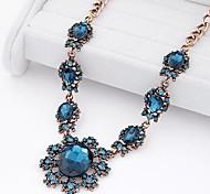 european estilo luxo metal brilho barroco jóia colar