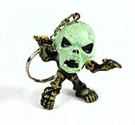 Skull Imp Silicone Keychain
