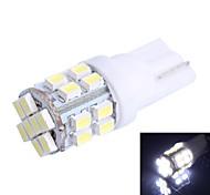 GC® T10 1.8W 24x3020 SMD 200LM 6000K White LED for Car Turn Steering Light (DC 12-24V)