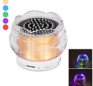 FL-01 Mini Portable Crystal Colorful Lights Wireless Bluetooth Speaker Supports Handsfree Functions