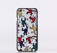 The Little People Pattern PC Hard Case for iPhone 6 plus