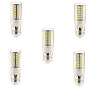 5 pcs E14/G9/E26/E27 15 W 69 SMD 5730 1500 LM Warm White/Cool White Corn Bulbs AC 220-240 V