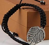 moda mão pulseiras de tecido de cor aleatória
