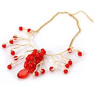 Tree Branch Shape Fashion Bib Necklaces Wholesale Random Color