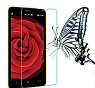 (0.3mm delgada, dureza 9h) 2.5D bordes redondeados film protector de pantalla de cristal templado para Nokia Lumia 1020