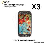 alta transparencia hd Protector de pantalla para Samsung luz (3 piezas)