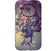 Feather Bells Design Hard Case for Motorola MOTO G