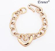 Eruner®Fashion Love Golden Chain Bracelet