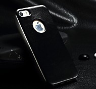 Ultra-thin PU Leather Hard Case for iPhone 4/4S (Assorted Colors)