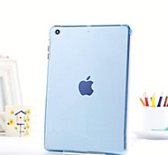 ultra-delgada rransparent pc cristal a proteger funda para Ipad Air