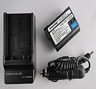 EL15 ismartdigi batería de la cámara 1900mah 7.0V + cargador de coche para Nikon D7000 / D7100 / 1v1 / d800 / D800E / d600 / p520 / p530