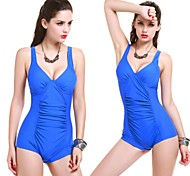 Women's Fashion Classic Bra Plus One Piece Fold The Swimsuit