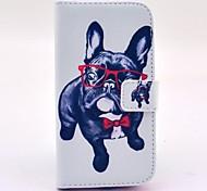 vidros padrões cão de couro caso de corpo inteiro para i9300 Samsung Galaxy S3