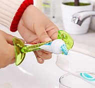 Fishbone Shaped Plastic Toothpaste Squeezer(Random Color)
