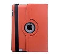 Lureme® Fashion Rotatable PU Full Case for iPad 3/4
