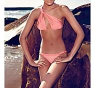 mode sexy bikini ensemble solide convertibles maillots de bain maillot de bain maillot de bain biquini des femmes