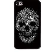caso duro cranio e alluminio di disegno farfalla per il iphone 4 / 4s