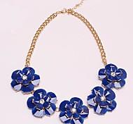 Women's New  Flower Necklace