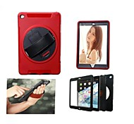 Personality Style Shockproof Drop resistance and Anti-Dust Back Cover Case for iPad Air 2/iPad 6 (Assorted Colors)