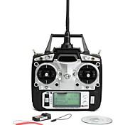 Flysky FS-T6 2,4 цифровое пропорциональное передатчик 6 каналов и приемник