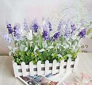 Plastic Lavender Artificial Flowers