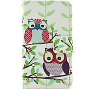 Owl Pattern Full Body Cases for iPhone 4/4S
