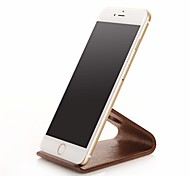 SAMDI IPhone Dock Cradle Creative Wood Frame Desktop Creative Wood Base for iphone4/4S/5/5C/5S/6/6 Plus and others