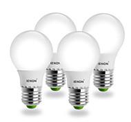 5W E26/E27 Lampadine globo LED G60 SMD 400-450 lm Bianco caldo AC 100-240 V 4 pezzi