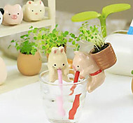 Valentine'S Day Lovely Animals Automatic Water Plants