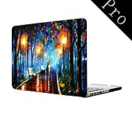 "Oil Painting Lovers in the Rain Design Full-Body Protective Plastic Case for MacBook Pro 13""/15"" (Non-Retina)"