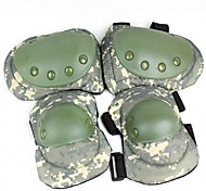 Military Camouflage Style Kneecap / Elbow Guard Set - Camouflage