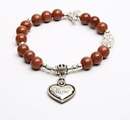 Personalized Gift Natural Stone Bracelet Crystal Strand Bracelets