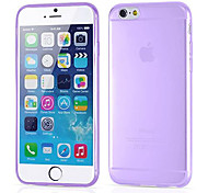DF 0.3 mm Ultrathin Transparent TPU Soft Case for iPhone 6s 6 Plus