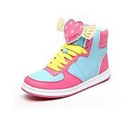 Chao Xi CAX New Shoes Women's High Top Flat Shoes