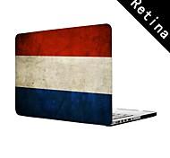"""Vintage niederländische flagge Design Ganzkörper-Schutz-Kunststoffgehäuse für 13 """"/ 15"""" MacBook-Pro mit Retina-Display"""