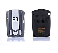 E8 360 Degrees Car Radar Detector With English/ Russian Voice Super Anti Radar Multi Band