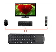 mini-touchpad voar air mouse RC12 2.4ghz teclado sem fio google tv caixa palyer android mini-pc para