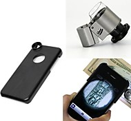 Apexel 65X Microscope Magnifier Zoom LED Micro Lens with Back Case for iPhone 5C