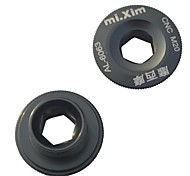MIXIM 18MM Aluminum Alloy Titanium Mountain Bike Crankset Crank Cover Screw