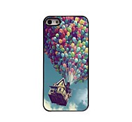 Balloon and House Design Aluminum Hard Case for iPhone 5/5S