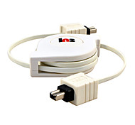 1.5M 4.92FT IEEE1394 Firewire 4Pin Male to 4Pin Male High Speed Firewire Scalable Data Transfer Cable
