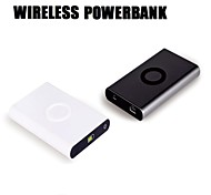 [Wireless] Real 7000mAh Wireless Power Bank for iPhone Samsung Tablet at Outdoor Travel Business Usage