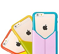 "HOCO® In.Design Folder PU Case with Stand Double-color Flip Free Switch Backless Style for iPhone6 4.7""(Assorted Colors)"