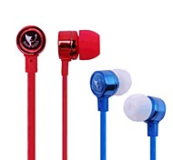 538 Flachkabel In-Ear-Kopfhörer mit Mikrofon