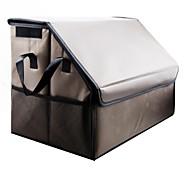 LEBOSH®Folding Leather Storage Box Multipurpose Car Trunk