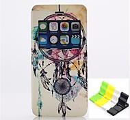 Ветер куранты шаблон PU кожаный чехол для всего тела есть духи и телефон владельца для Iphone 6