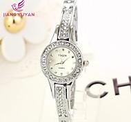 gedi® marques de luxe les femmes montres bracelet à quartz strass de montres de mode des femmes (de couleurs assorties)